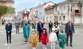 Asigliano, corsa dei buoi: vince il team Cascina Varalla - La fotogallery