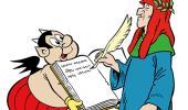 Forte di Bard Dante fumetto