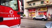 Fuga gas via XX settembre Vercelli