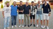 Gianni Torazzo e giocatori (foto Morera)