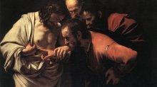 """Caravaggio """"L'incredulità di San Tommaso"""""""