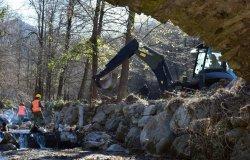 Torrente Cervo: terminata la prima fase dei lavori