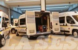 Tre unità mobili di soccorso per la Protezione civile