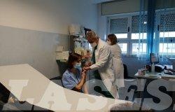 Vercelli: iniziate le prime vaccinazioni contro il Covid