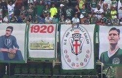 Anche la Pro Vercelli in festa per il Palmeiras