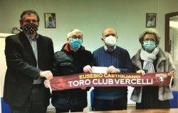 Donazione del Toro Club Vercelli per il Centenario di Castigliano