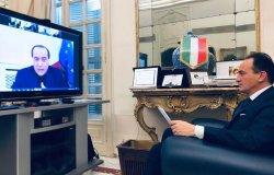 Cirio indica a Berlusconi le priorità da far inserire nel programma di Draghi