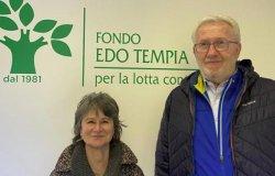 Ezio Conti e Franca Giovagnini nuovi medici volontari del team Tempia