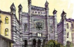 Sinagoghe d'Italia, raccontate e disegnate: pagine di storia