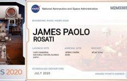 James, crescentinese su Marte