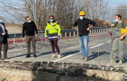 """Vercelli-Trino: """"Contiamo di riaprire la strada venerdì 5 marzo"""""""