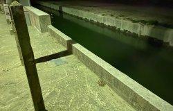 Canale riattivato senza barriere di protezione