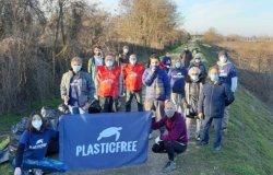 Vercelli: seconda raccolta rifiuti lungo il fiume Sesia