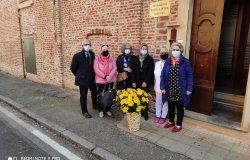 Vercelli: fiori per la piccola Opera Charitas