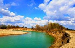 I fiumi emettono anidride carbonica nell'aria