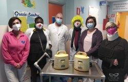 Asl Vercelli: due importanti donazioni alla Pediatria