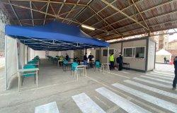 Alessandria: attivato il centro vaccinale nell'ex caserma Valfrè
