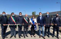 Inaugurata la tangenziale che collega Fara Novarese alla Valsesia
