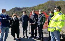 Romagnano:  al via i lavori per il ponte provvisorio