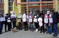 Flash mob per il diritto all'interruzione volontaria di gravidanza
