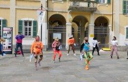 Palestre e scuole di danza: flash mob a Livorno Ferraris
