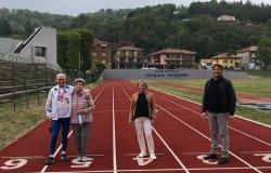 Il recordman italiano Benito Bertaggia, 84 anni, ospite di Rai Uno