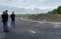 Saluggia: la nuova rotatoria aprirà al traffico il 10 maggio