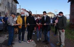 Inaugurato il nuovo percorso della via Francigena