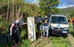 Raccolti 500 chilogrammi di rifiuti da un esercito di volontari