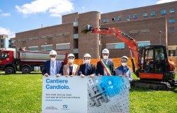 Candiolo: iniziati i lavori di ampliamento del Centro oncologico