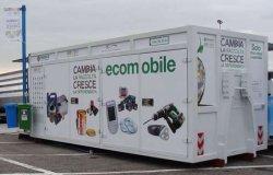 Ecomobile per la raccolta di rifiuti speciali e inquinanti