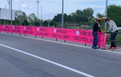 Vercelli e provincia pronti ad accogliere il Giro d'Italia