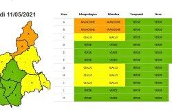 Allerta arancione nel Piemonte settentrionale: Sesia sotto osservazione