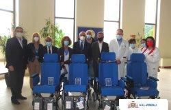 Rotary club Valsesia: 4 carrozzine per l'ospedale SS. Pietro  e Paolo