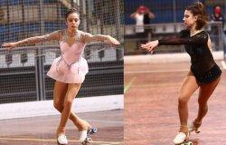 Pattinaggio: Morgana e Ginevra Olivetti campionesse regionali