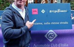 Aci al Giro d'Italia per la sicurezza stradale