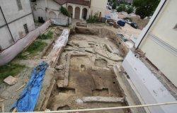 Strutture di epoca romana in piazza Antico ospedale