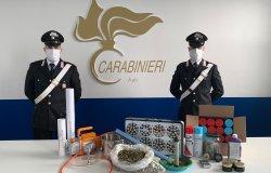 Laboratorio di trasformazione della cannabis: arrestati due italiani