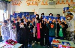 Gli alunni ringraziano Carlo Olmo