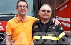Vigili del fuoco di Vercelli: in pensione Avonda e Poletto