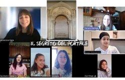 Varcando il portale dell'antica basilica di S Maria Maggiore
