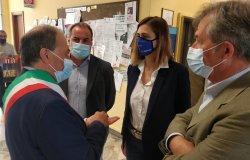 La nuova direzione dell'Asl in visita all'ospedale Sant'Andrea