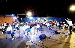 Concerti  in presenza delle scuole medie e delle bande