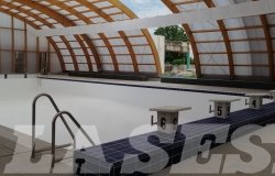 Centro nuoto: quasi terminati i lavori per la piscina al coperto