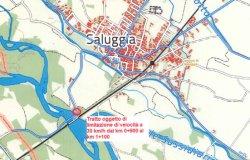 Saluggia-Gattinara: nuovo limite di velocità prima del ponte sulla Dora