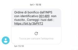 """""""Attenzione alla truffa del falso sms Inps"""""""