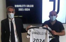 Diavoletticalcio: accordo di tre anni con la Juventus
