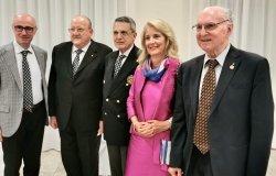 Il Rotary Club Sant'Andrea premia Livio Berruti