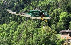 Alagna Valsesia: esercitazione di soccorso persone disperse - La fotogallery