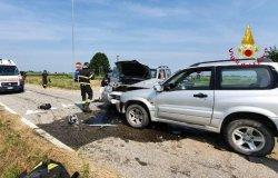 Stroppiana: scontro tra due auto, un ferito in ospedale